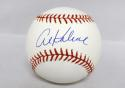 Al Kaline Autographed Rawlings OML Baseball- JSA Witnessed Authenticated