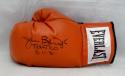 Buster Douglas Autographed Everlast Red Boxing Glove- JSA Witnessed Auth *Top