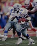 Emmitt Smith Signed Cowboys 16x20 Running Against 49ers Vert Photo- JSA W Auth