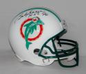 Bob Griese Autographed F/S Miami Dolphins TB Helmet w/ HOF and JSA W Auth