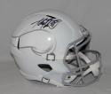 Adrian Peterson Autographed Minnesota Vikings ICE Speed F/S Helmet Fanatics Auth