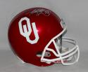 Adrian Peterson Autographed OU Sooners Full Size Helmet- Fanatics Auth