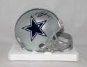 Tyron Smith Autographed Dallas Cowboys Mini Helmet with JSA W Auth