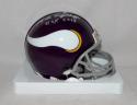 Mick Tingelhoff Signed Vikings 61-79 Mini Helmet W/ HOF- The Jersey Source Auth