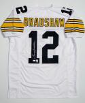 Terry Bradshaw Autographed White Pro Style Jersey- JSA W Authenticated
