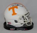 Jason Witten Signed Tennessee Volunteers White Schutt Mini Helmet- JSA W Auth