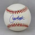 Carlos Beltran Autographed OML Baseball with Online Authentics