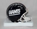 Lawrence Taylor Autographed N.Y. Giants TB 81-99 Mini Helmet W/ HOF-JSAW *White
