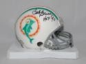 Bob Griese Autographed Miami Dolphins 1972 Mini Helmet  JSA W Auth w/ HOF