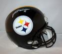 James Harrison Autographed Pittsburgh Steelers Full Size Helmet JSA Witness *wht