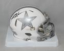 Deion Sanders Autographed Dallas Cowboys ICE Speed Mini Helmet- JSA W Auth *back*