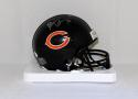 Brian Urlacher Autographed Chicago Bears Mini Helmet- JSA Witnessed Authenticated