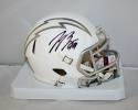Joey Bosa Autographed San Diego Chargers Ice Mini Helmet- JSA Witnessed Auth