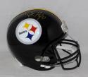 TJ Watt Autographed *Gold* Pittsburgh Steelers Full Size Helmet- JSA W Watt Holo