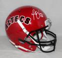 Marshall Faulk Autographed San Diego State TB Full Size Helmet JSA W Auth *white