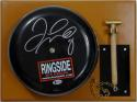 Floyd Mayweather Autographed Black Ringside Boxing Bell Beckett BAS *Black*