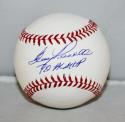 Boog Powell Autographed Rawlings OML Baseball 70 AL MVP Insc -JerseySource Auth