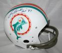 Larry Csonka HOF Signed Miami Dolphins F/S TK Helmet- JSA Witness Auth