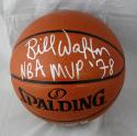 Bill Walton Autographed NBA Spalding Basketball- JSA Witnessed MVP Inscribed