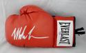 Mike Tyson Autographed Red Everlast Boxing Glove- PSA Authenticated *Silver