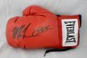 Mike Tyson / Buster Douglas  Autographed *Black Everlast Boxing Glove- JSA W Auth