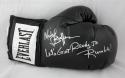 Michael Buffer Autographed BLK Everlast Boxing Glove JSA W, Lets get ready.. INS