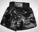 Mike Tyson Signed / Autographed Black Boxing Trunks- JSA W Authenticated