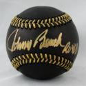 Johnny Bench Autographed Black Rawlings OML Baseball W/ ROY- JSA W Authenticated
