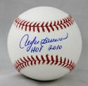 Andre Dawson Autographed Rawlings OML Baseball W/ HOF- JSA W Authenticated