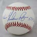 Nolan Ryan Autographed Rawlings OML Baseball With 324 Wins, 5714 K's- JSA Authenticated Ryan HOLO