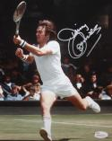 Jimmy Connors Autographed 8x10 Photo US Open JSA Witness Authenticated