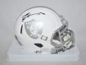 Michael Crabtree Autographed Oakland Raiders ICE Mini Helmet- JSA W Authenticated