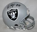 Amari Cooper Autographed Full Size Oakland Raiders Helmet- JSA Witnessed Auth