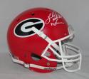 Herschel Walker Autographed Georgia F/S Schutt Helmet w/ Heisman- JSA W Auth *White