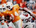 Eric Berry Autographed Tennessee Volunteers 8x10 Horizontal Running Photo- JSA W Auth