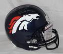 Emmanuel Sanders Autographed Denver Broncos F/S Helmet W/ SB Champs- JSA W Auth