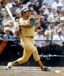 Reggie Jackson Autographed Oakland A's 16x20 Batting Photo- JSA Witness Authenticated