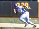 Bo Jackson Autographed Kansas City Royals 16x20 Running *Blue Photo- JSA W Auth
