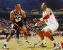 Hakeem Olajuwon/David Robinson Signed 16x20 Photo- JSA Witness Authenticated