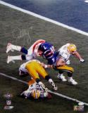 John Elway Autographed Denver Broncos 16x20 SB Spin PF Photo- JSA W Auth *Silver