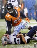 Von Miller Autographed Denver Broncos 16x20 Brady Sack PF Photo- JSA W Auth