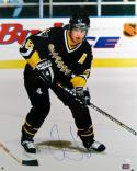 Jaromir Jagr Autographed Pittsburgh Penguins 16x20 Skating Photo- JSA Authenticated