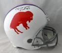 O. J. Simpson Autographed Buffalo Bills F/S 65-73 TB Helmet with HOF- JSA W Auth