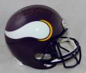 Randy Moss Autographed Minnesota Vikings F/S 83-01 TB Helmet- JSA W Auth *Gold