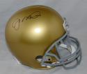 Joe Montana Signed Notre Dame Fighting Irish Full Size Riddell Helmet- JSA W Auth