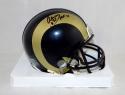 Aeneas Williams Autographed St. Louis Rams Mini Helmet W/ HOF- Jersey Source Auth