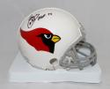 Aeneas Williams Signed Cardinals 60-04 TB Mini Helmet W/ HOF- Jersey Source Auth