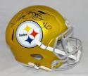 Jerome Bettis Autographed F/S Pittsburgh Steelers Blaze Speed Helmet- JSA W Auth