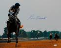 Ron Turcotte Autographed 16x20 Riding Secretariat Photo- JSA W Authenticated