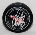 Alexander Ovechkin Autographed Washington Capitals Game Hockey Puck-JSA-W Auth